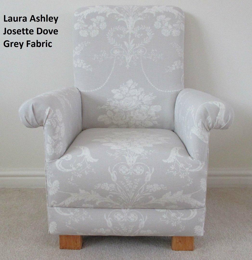Laura Ashley Bedroom Furniture Laura Ashley Josette Dove Grey Fabric Kids Chair Child Nursery