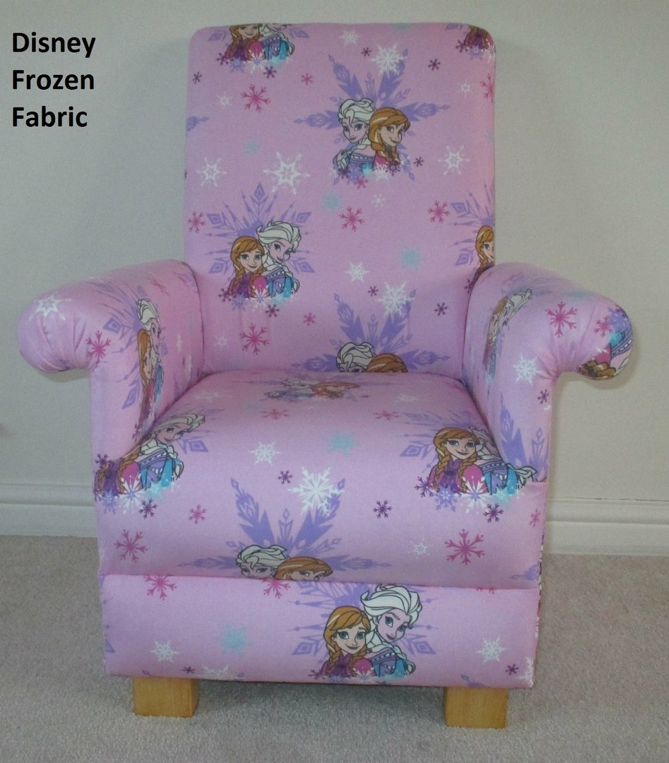 Lilac Bedroom Disney Frozen Fabric Childs Chair Pink Lilac Bedroom Anna Elsa